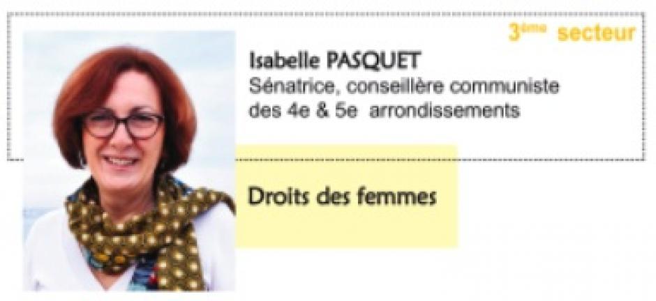 3e secteur de Marseille (4e et 5e arr.). Votre élue du Front de gauche